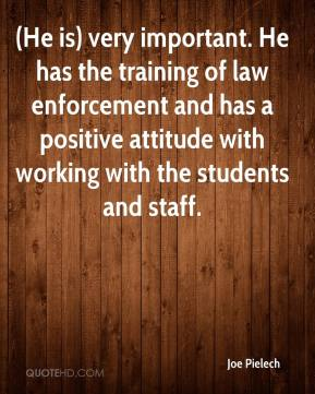 you attitude positive enforcement A positive attitude on the part of a supervisor can directly impact the motivation and productivity of subordinate officers 36 this enhancing the motivation and productivity of police officers is a difficult self-motivation and self-improvement, fbi law enforcement.