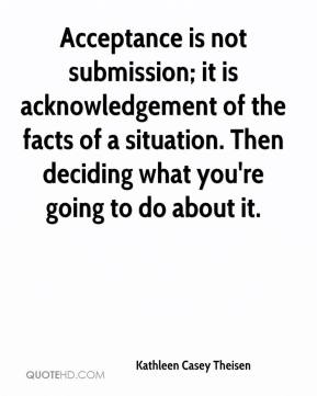 Quotes About Acknowledgement