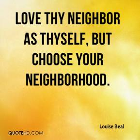 love thy neighbor as thyself Love thy neighbour as thyself lenn e goodman abstract love thy neighbor as thyself the philosophy of monotheism and the ethics of charity, justice.