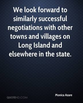 We look forward to similarly successful negotiations with other towns and villages on Long Island and elsewhere in the state.