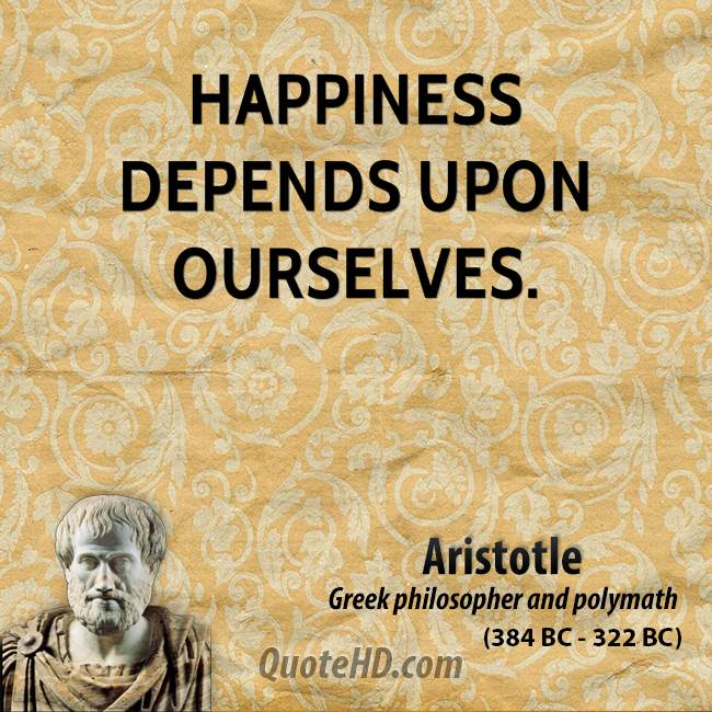 happiness for aristotle essay