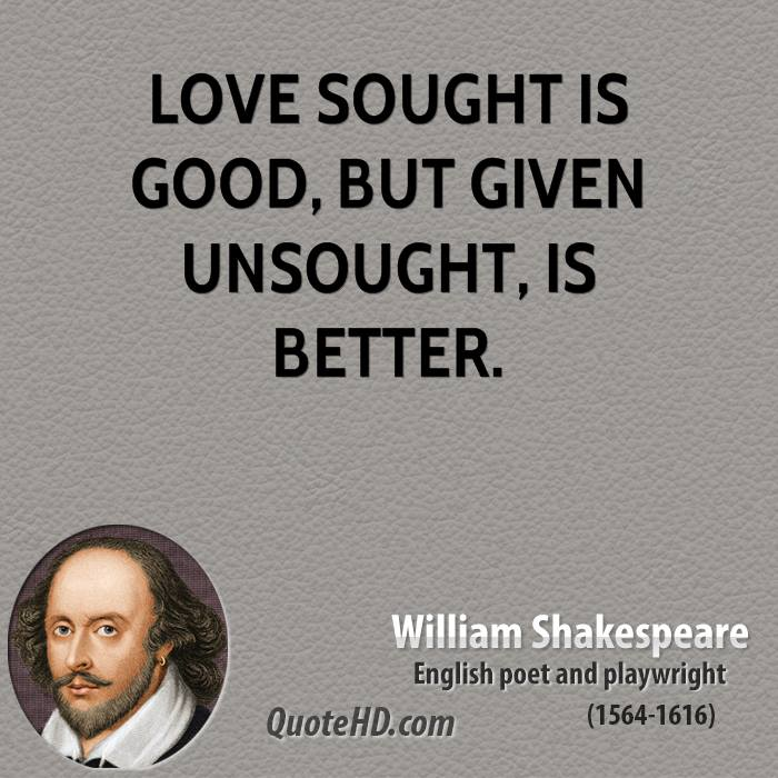Love Quotes For Him By William Shakespeare : William Shakespeare Love Quotes Love Quotes